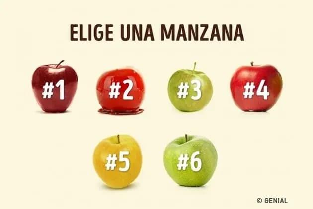 elige una manzana