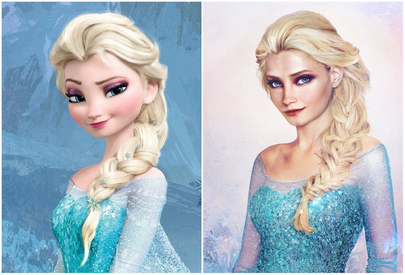 Cómo se verían las princesas de disney en la vida real 1