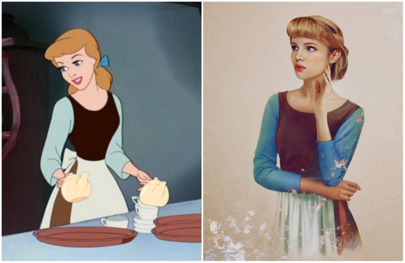 Cómo se verían las princesas de disney en la vida real 10