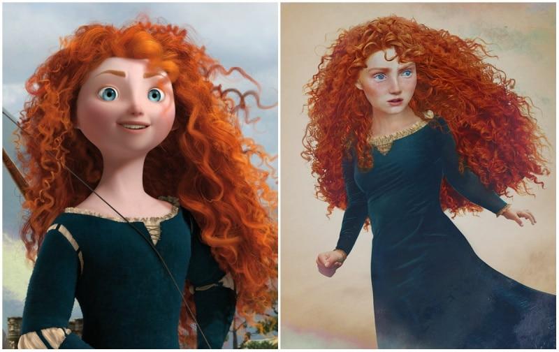 Cómo se verían las princesas de disney en la vida real 11