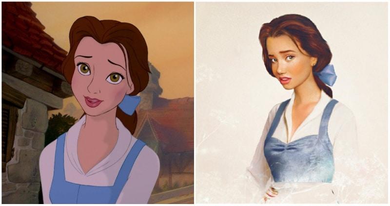 Cómo se verían las princesas de disney en la vida real 12