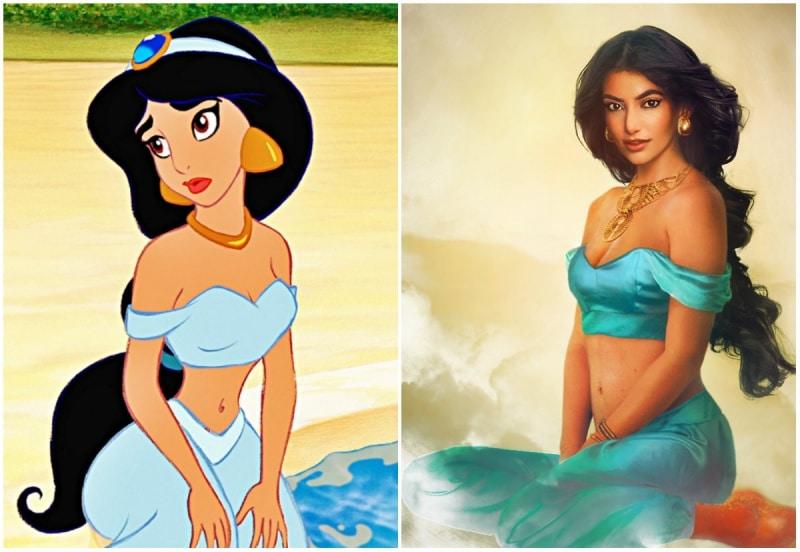 Cómo se verían las princesas de disney en la vida real 2