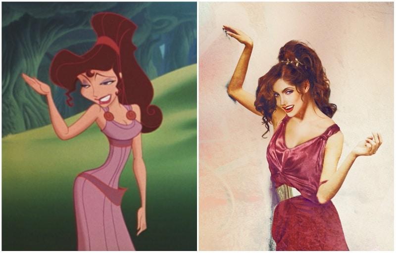 Cómo se verían las princesas de disney en la vida real 4