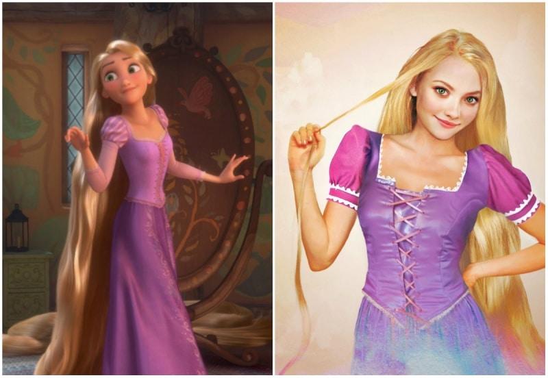 Cómo se verían las princesas de disney en la vida real 6