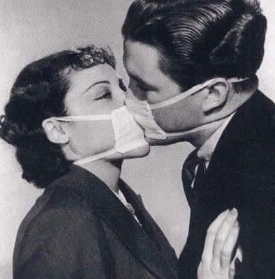 Besos apretados
