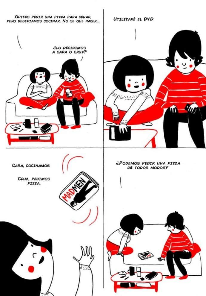ilustraciones muestran que el amor de verdad está en los pequeños detalles 2