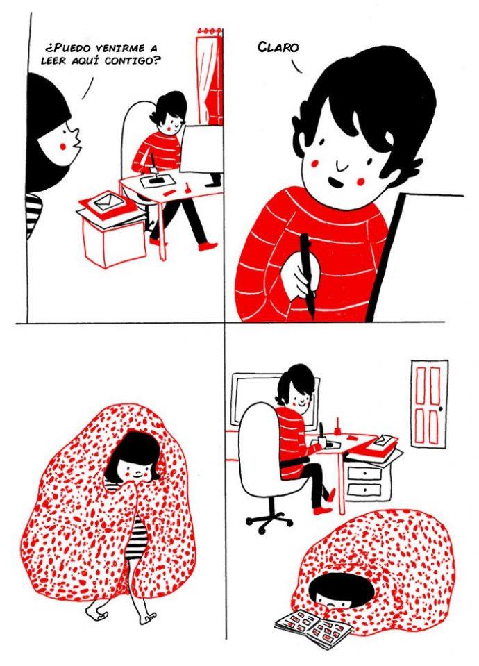 ilustraciones muestran que el amor de verdad está en los pequeños detalles 4
