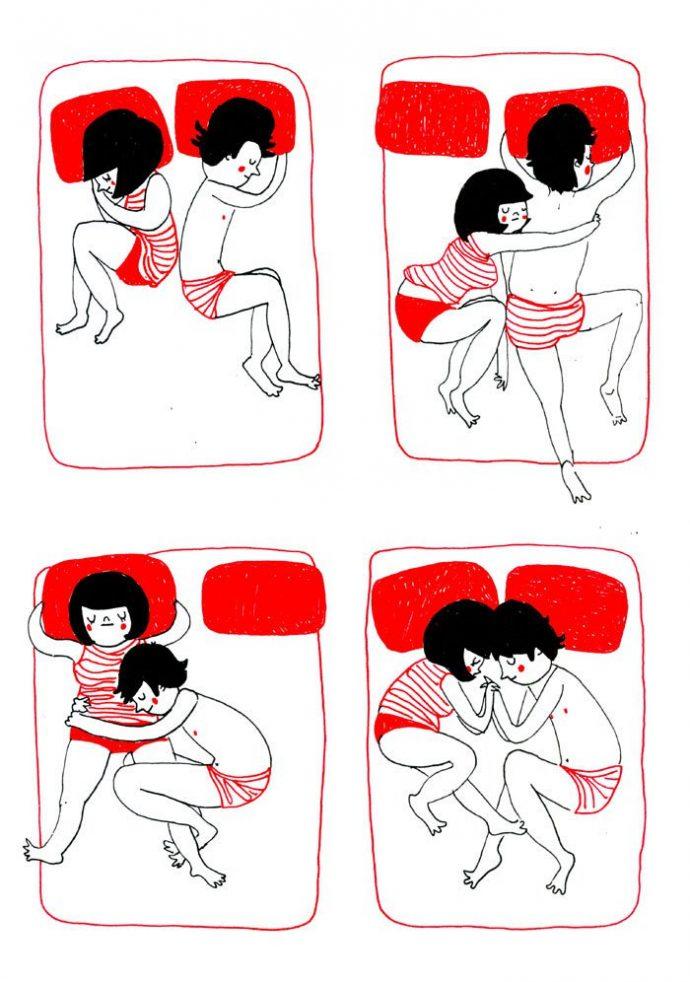 ilustraciones muestran que el amor de verdad está en los pequeños detalles 5