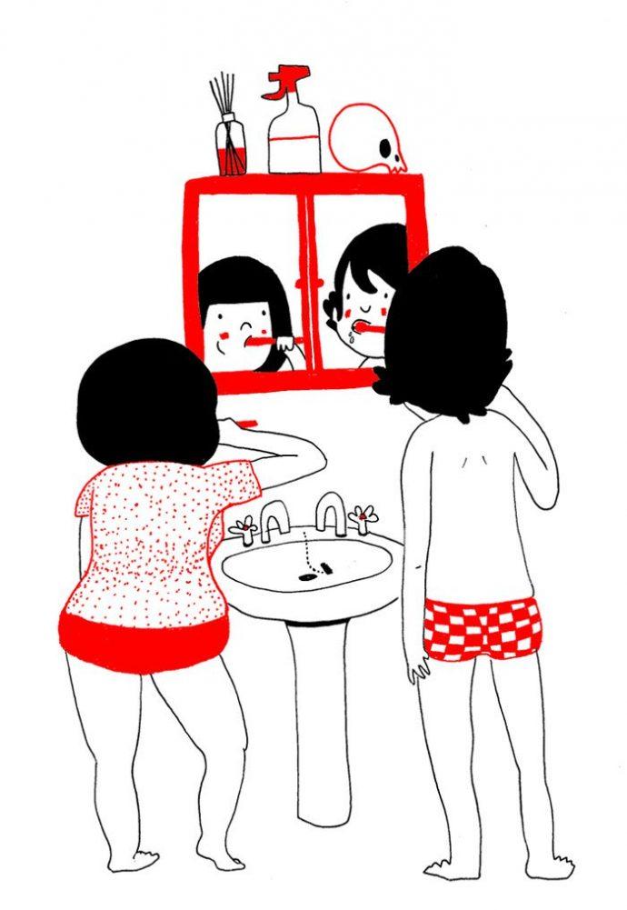 ilustraciones muestran que el amor de verdad está en los pequeños detalles 6