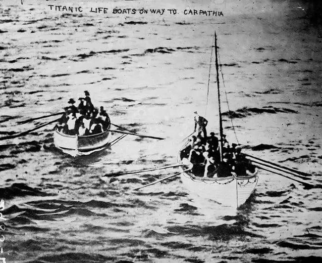 fotos que narraron la tragedia del Titanic