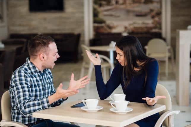 infiel en la primera cita