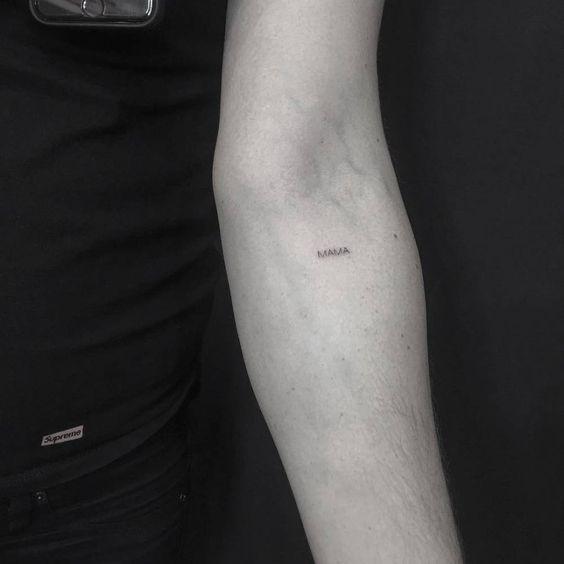 Tatuajes pequeños y discretos