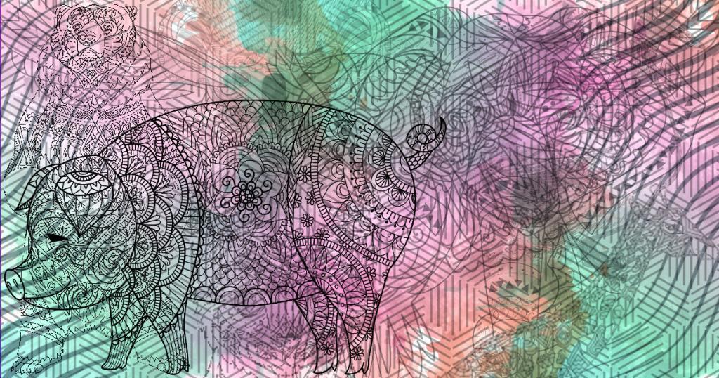 Si has visto un cerdo